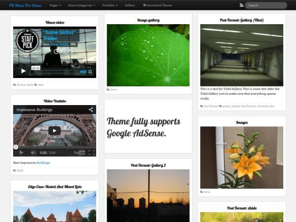 PR NEWS is a powerful responsive and multi-purpose WordPress theme